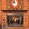 The Homestead 418 Fireplace Mantel Shelf, Life Style View (3)
