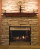 The Homestead 418 Fireplace Mantel Shelf, Life Style View (4)