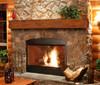 The Lexington 496 Fireplace Mantel Shelf, Life Style View 1