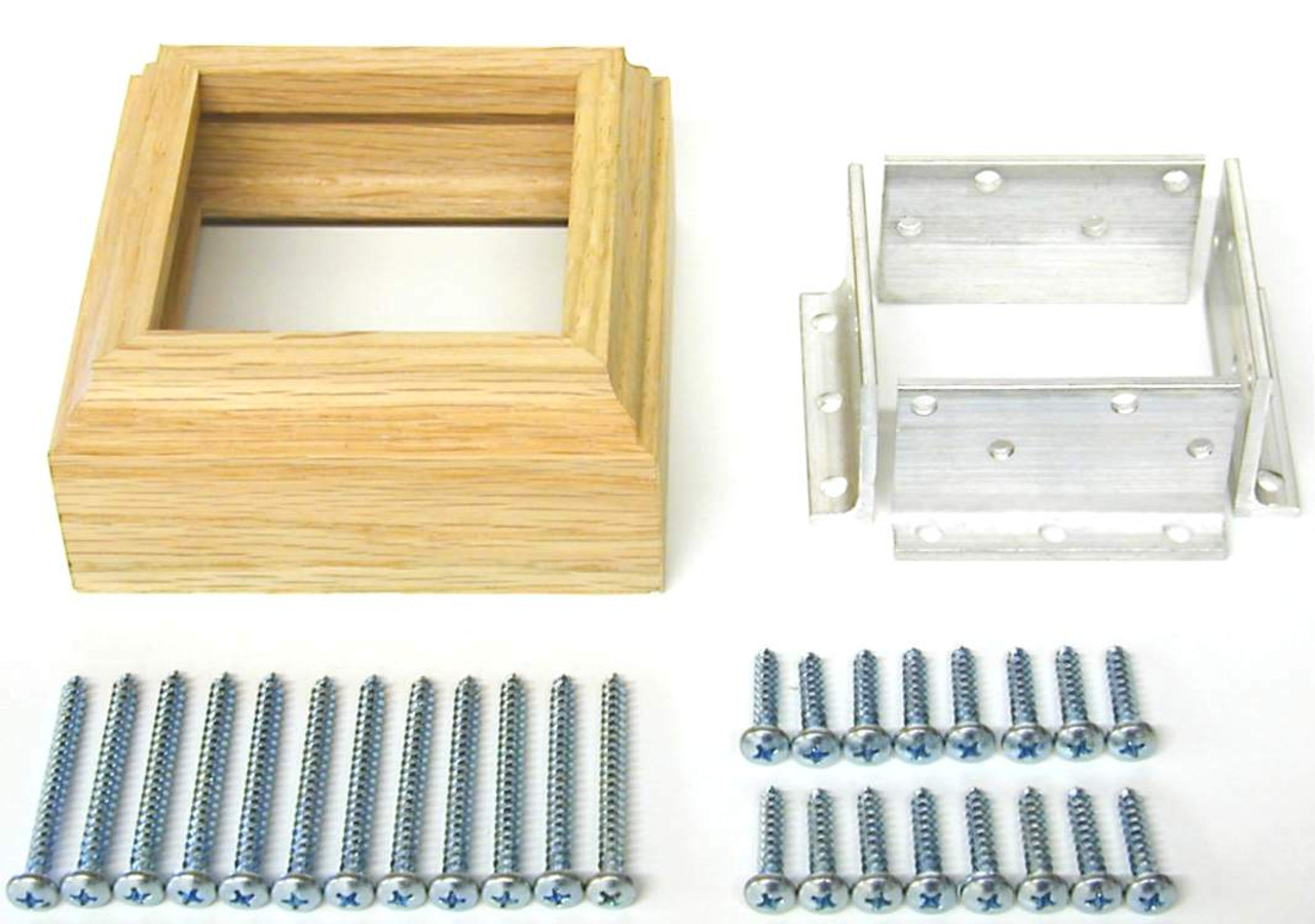 """3009 Newel Post Anchor Kit for 3"""" Newels"""