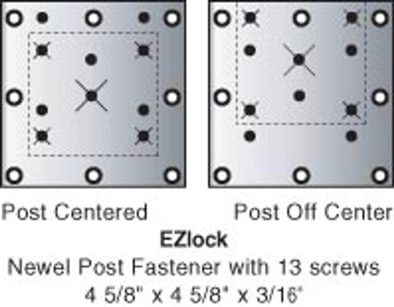 EZLock Newel Fastener