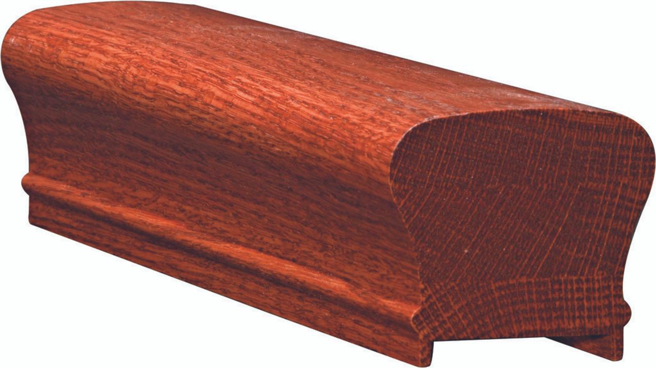 6210P Yellow Pine Plowed Handrail