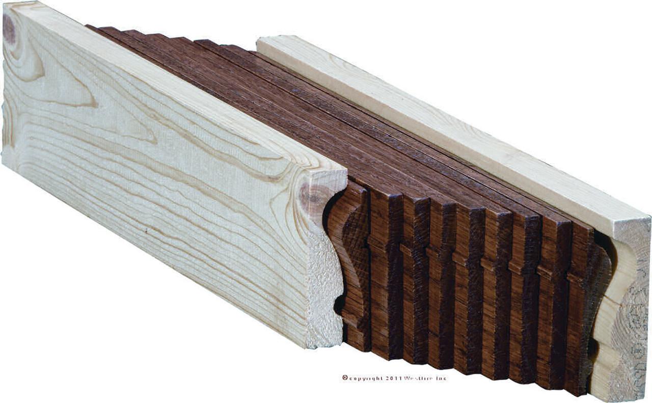 6210B White Oak Bending Handrail
