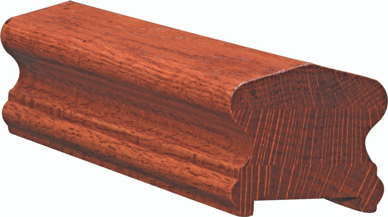6910P Poplar Plowed Handrail