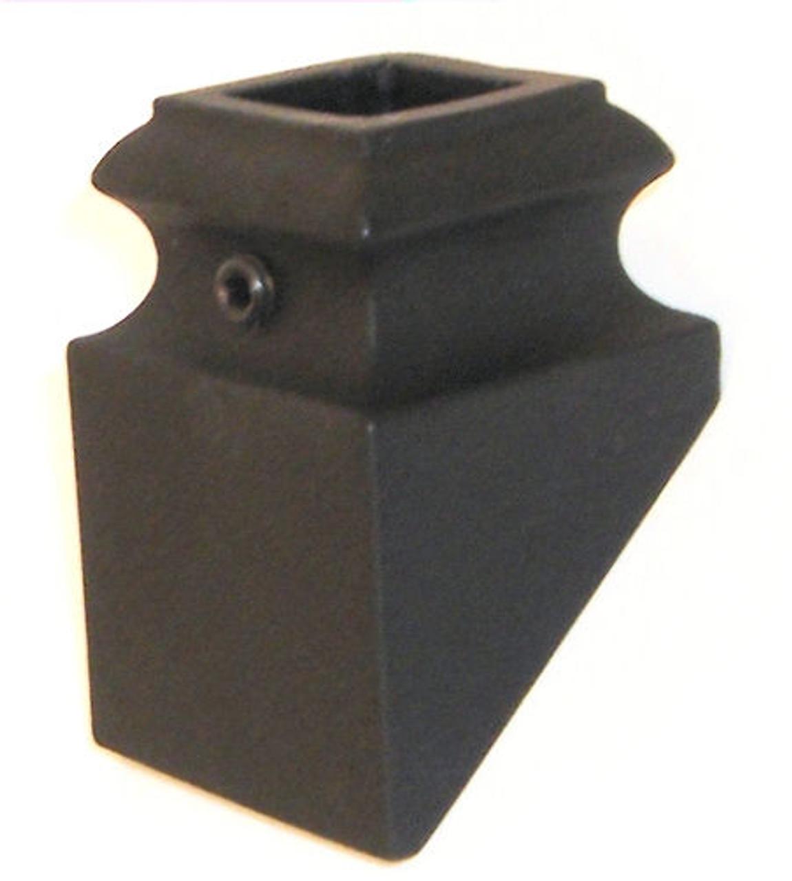 SH905 12mm Slanted Shoe for Hammered Balusters