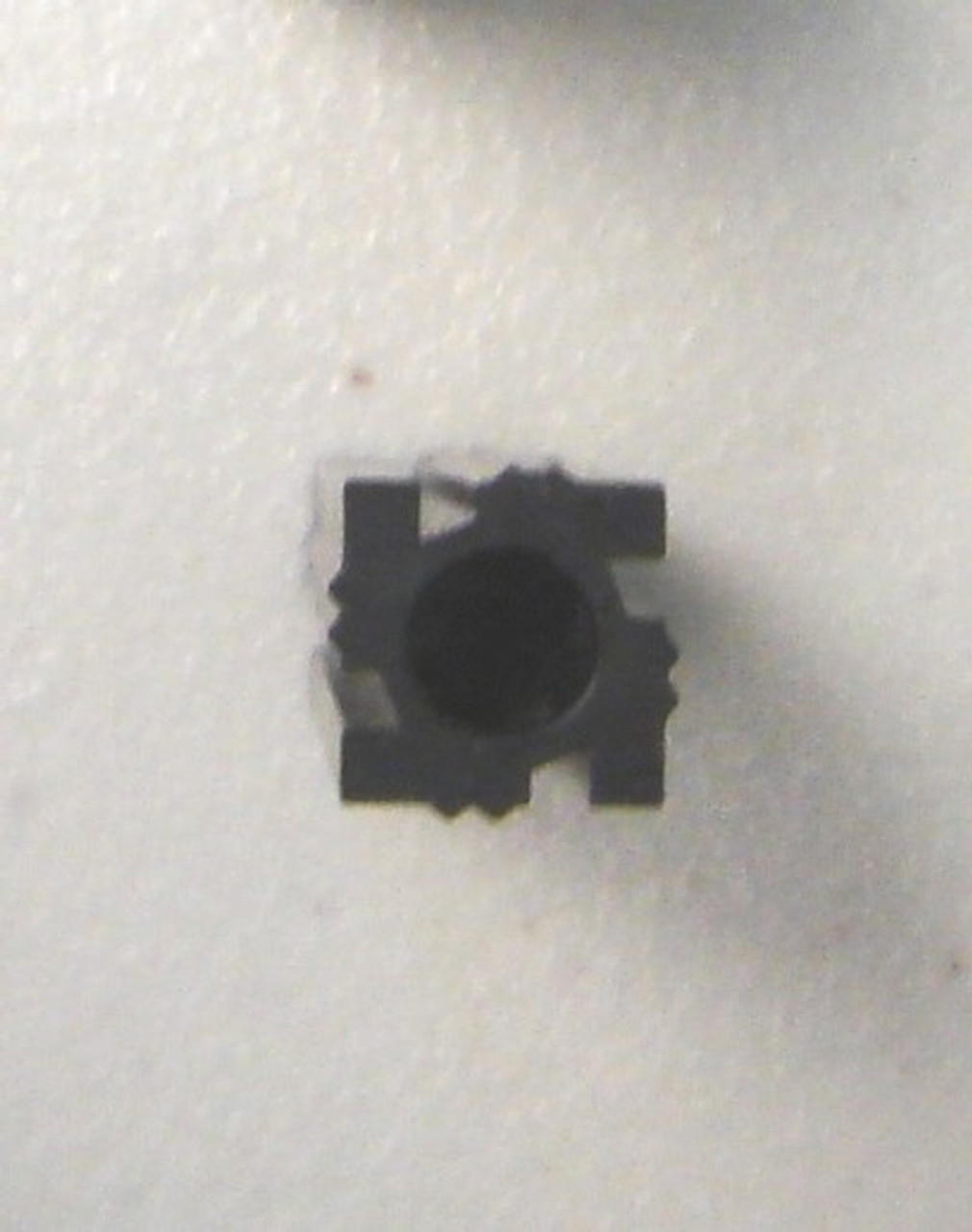 Top View T-PLUG, Baluster Mounting Plug