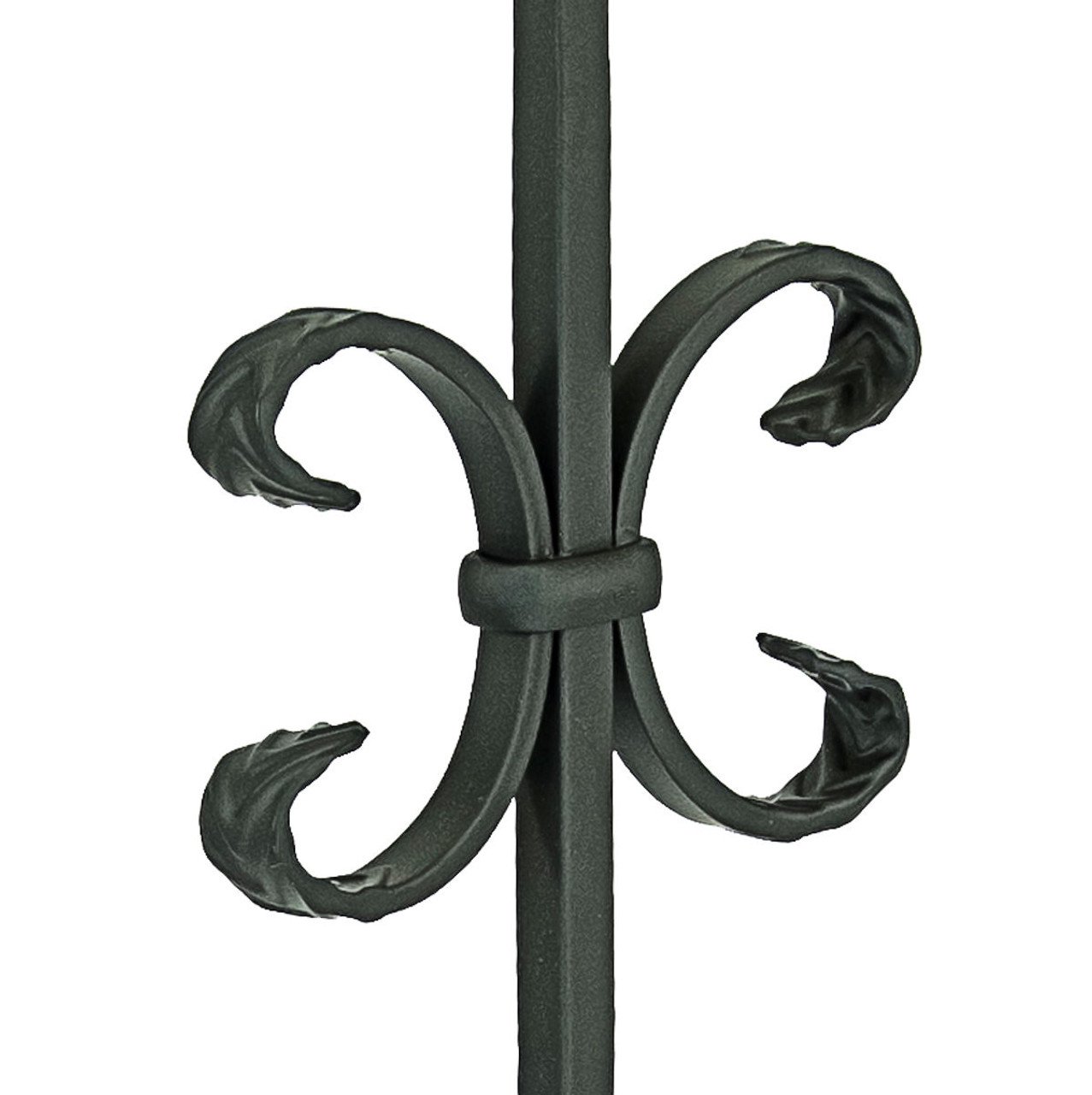 T-10 Single Butterfly, Double Ribbon, Tubular Steel Close Up