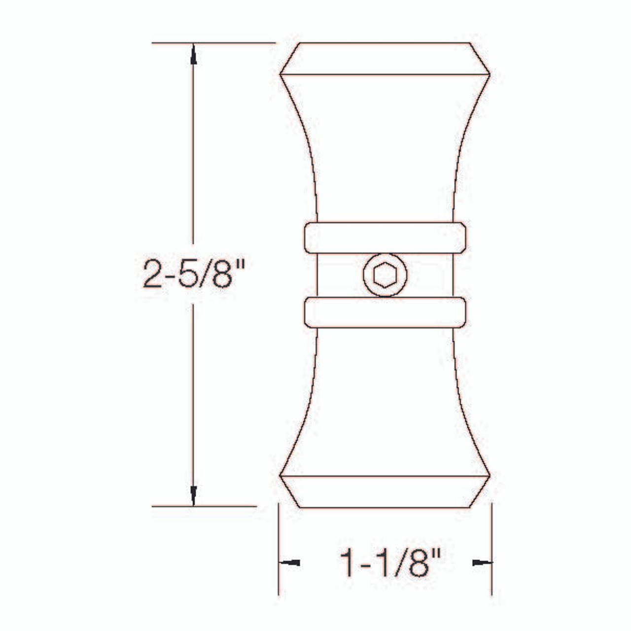 C2 Large Collar Dimensional Information