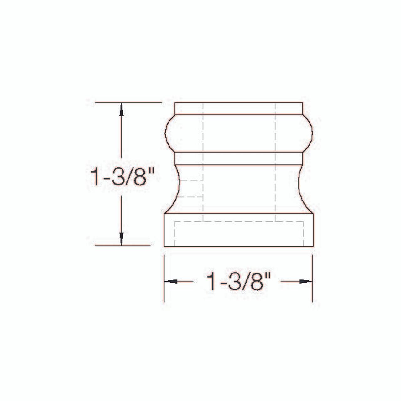 2GR900 Flat Shoe Dimensional Information