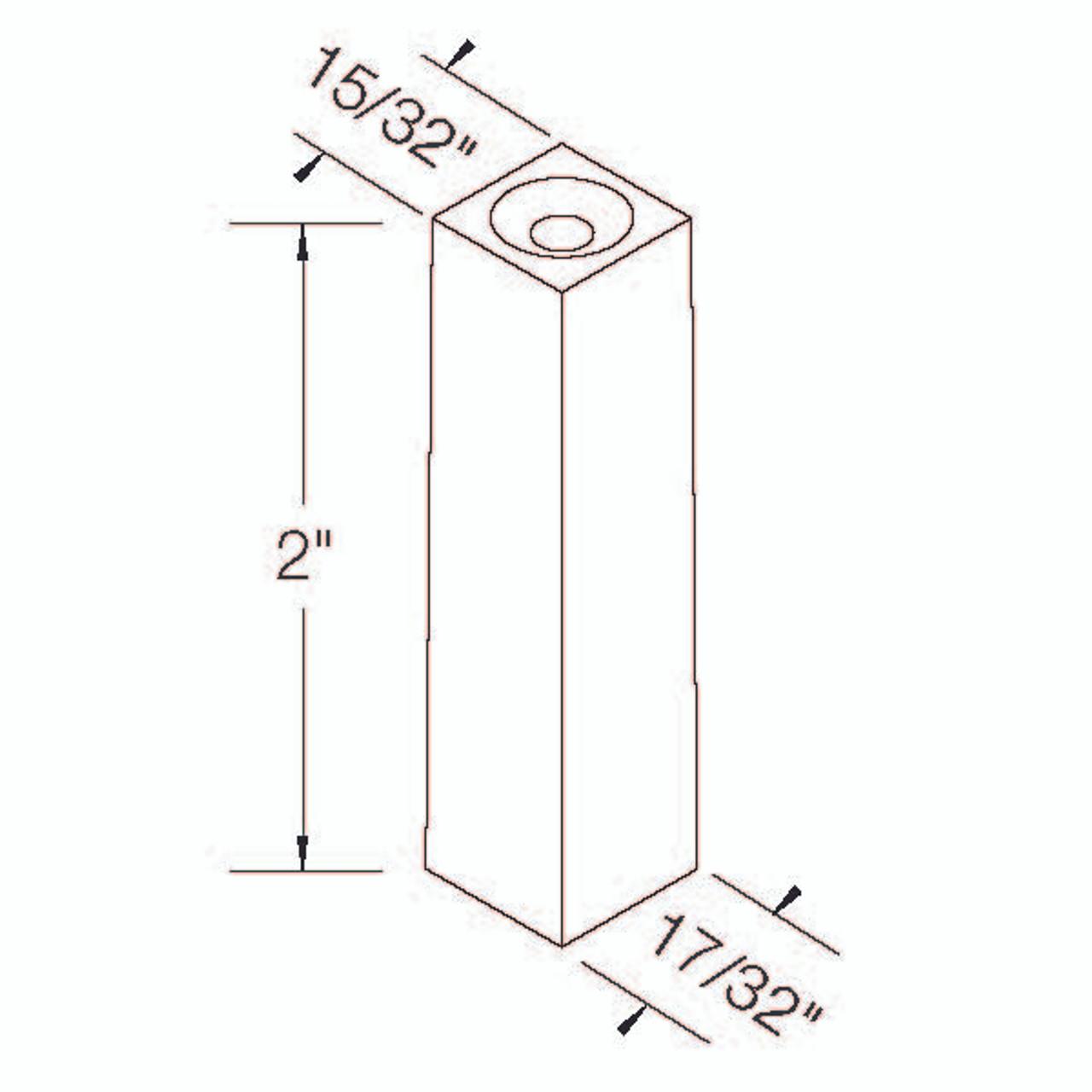 2GPlug Dimensional Information