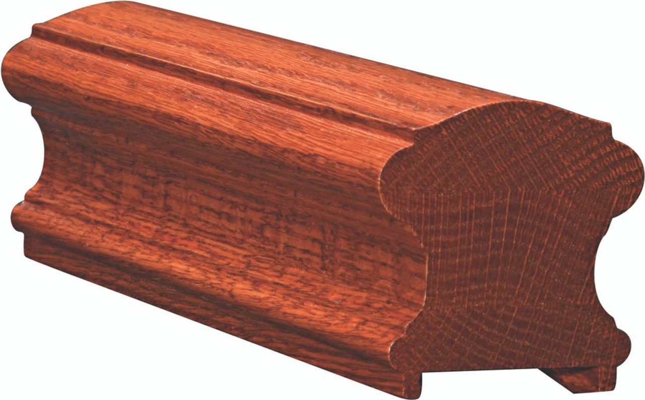 6710P Poplar Plowed Handrail