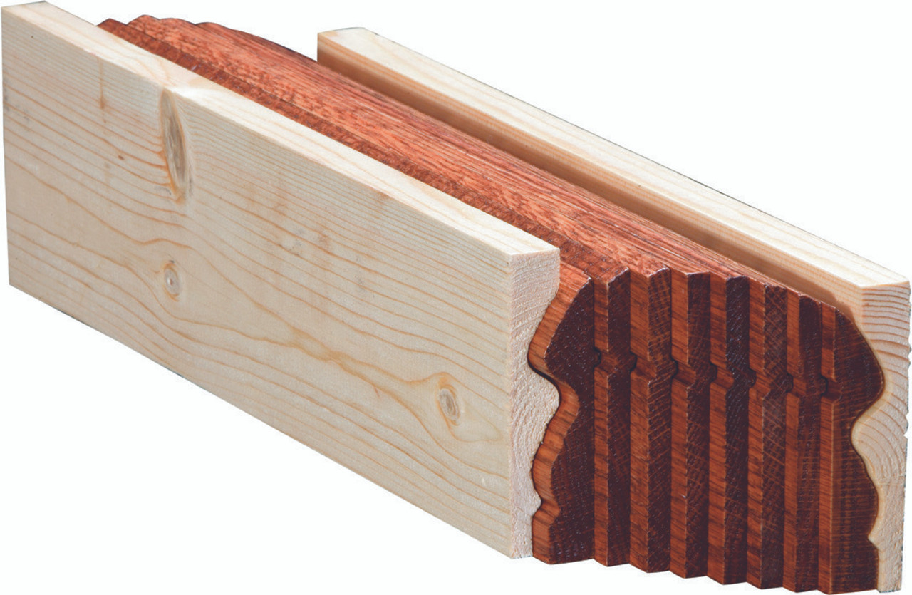 6519B Walnut Bending Handrail