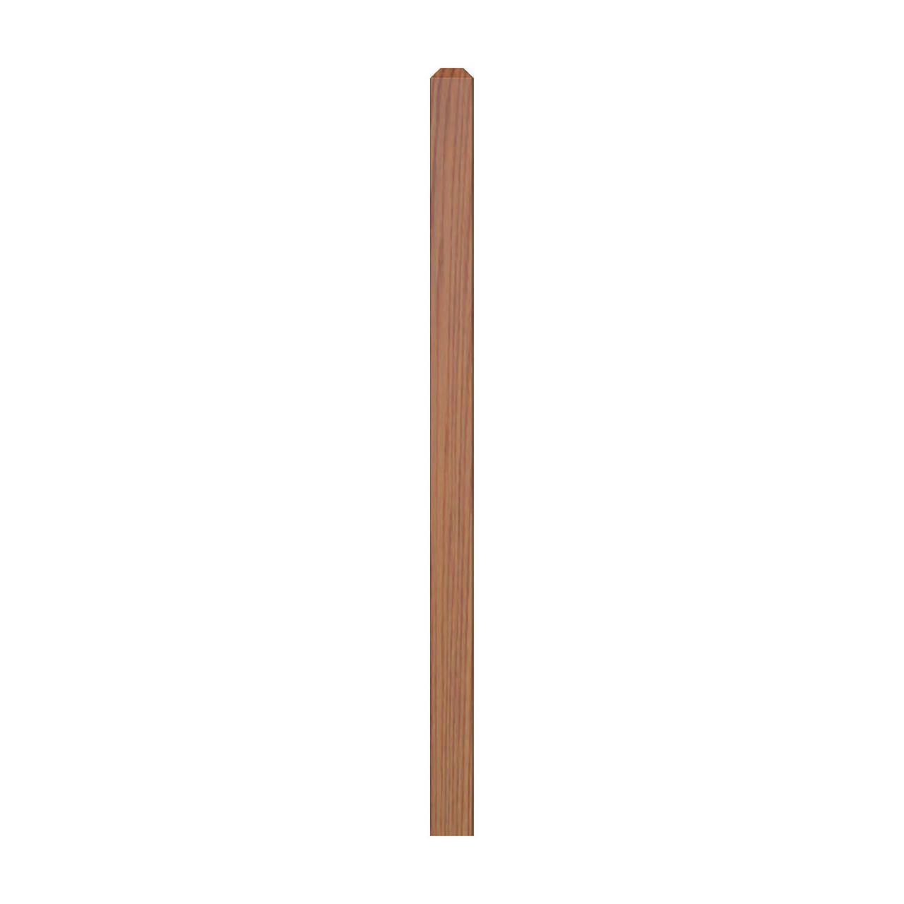 """4000 60"""" S4S Newel with Chamfered Top"""