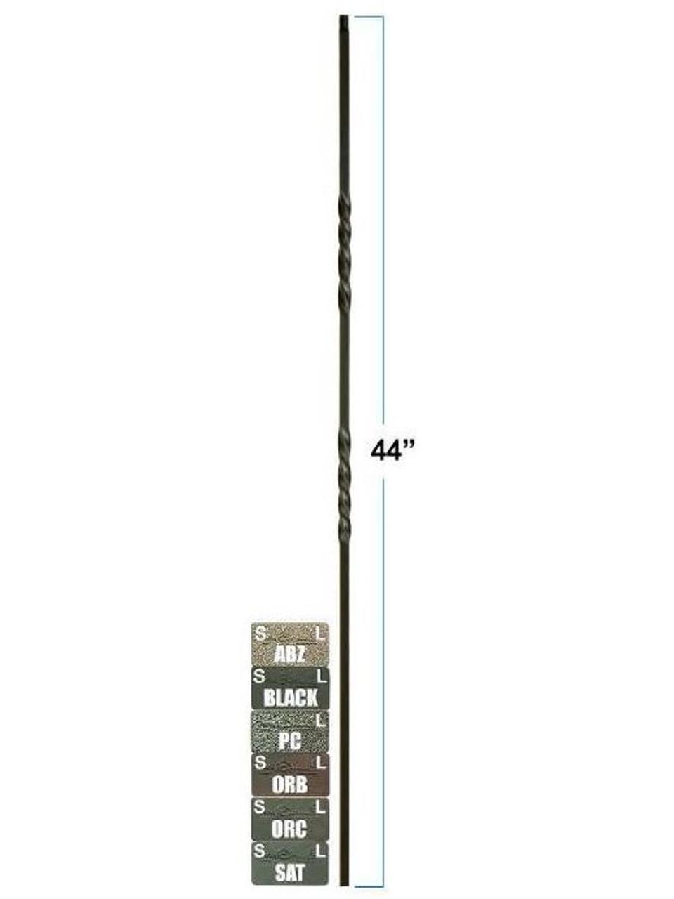 2551-LT Lite Double Twist Balusters