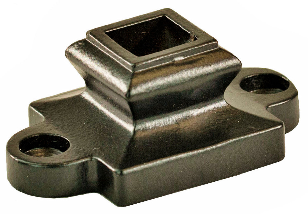 2910 Solid Iron Shoe with Screw Down Ears for 1/2-inch balusters