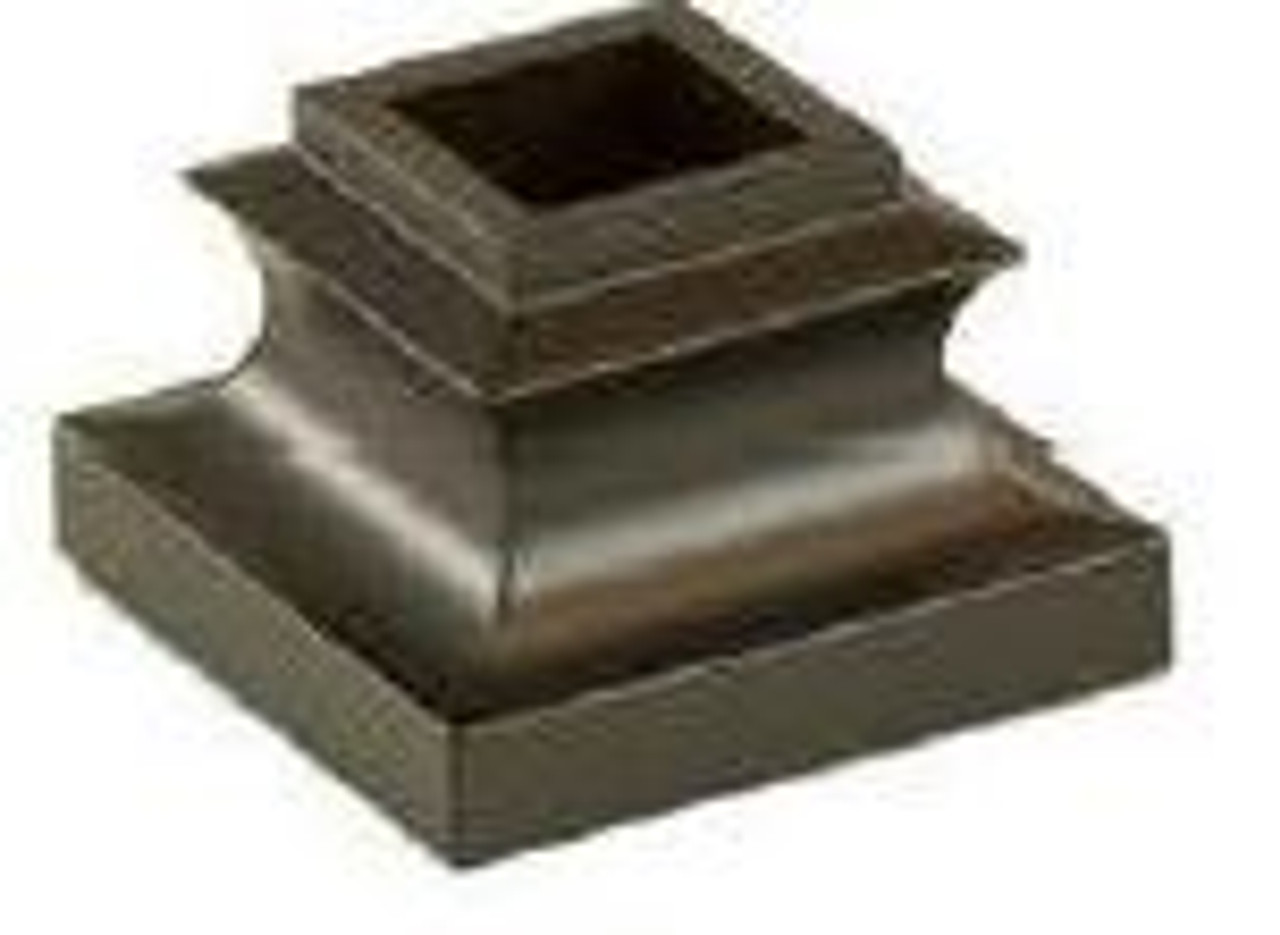 2341-LT Lite Flat Shoe with no set screw for the 9/16-inch Balusters