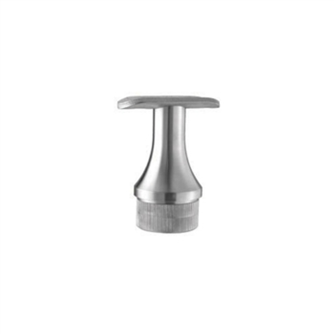 E0102 Stainless Steel Handrail Support, Ridged