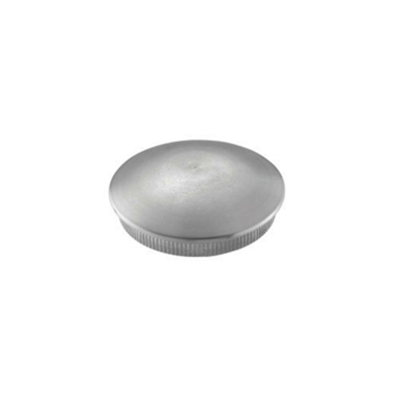 E0117 Stainless Steel End Cap Rounded