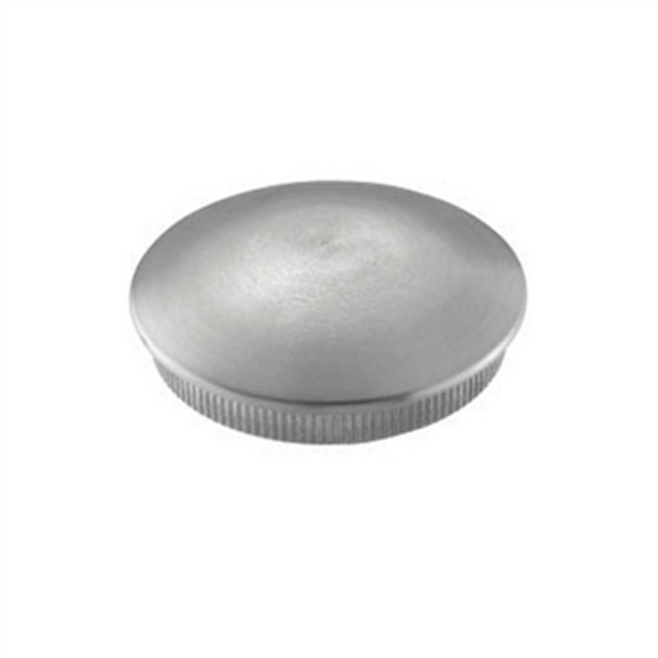 E01190 Stainless Steel End Cap Rounded