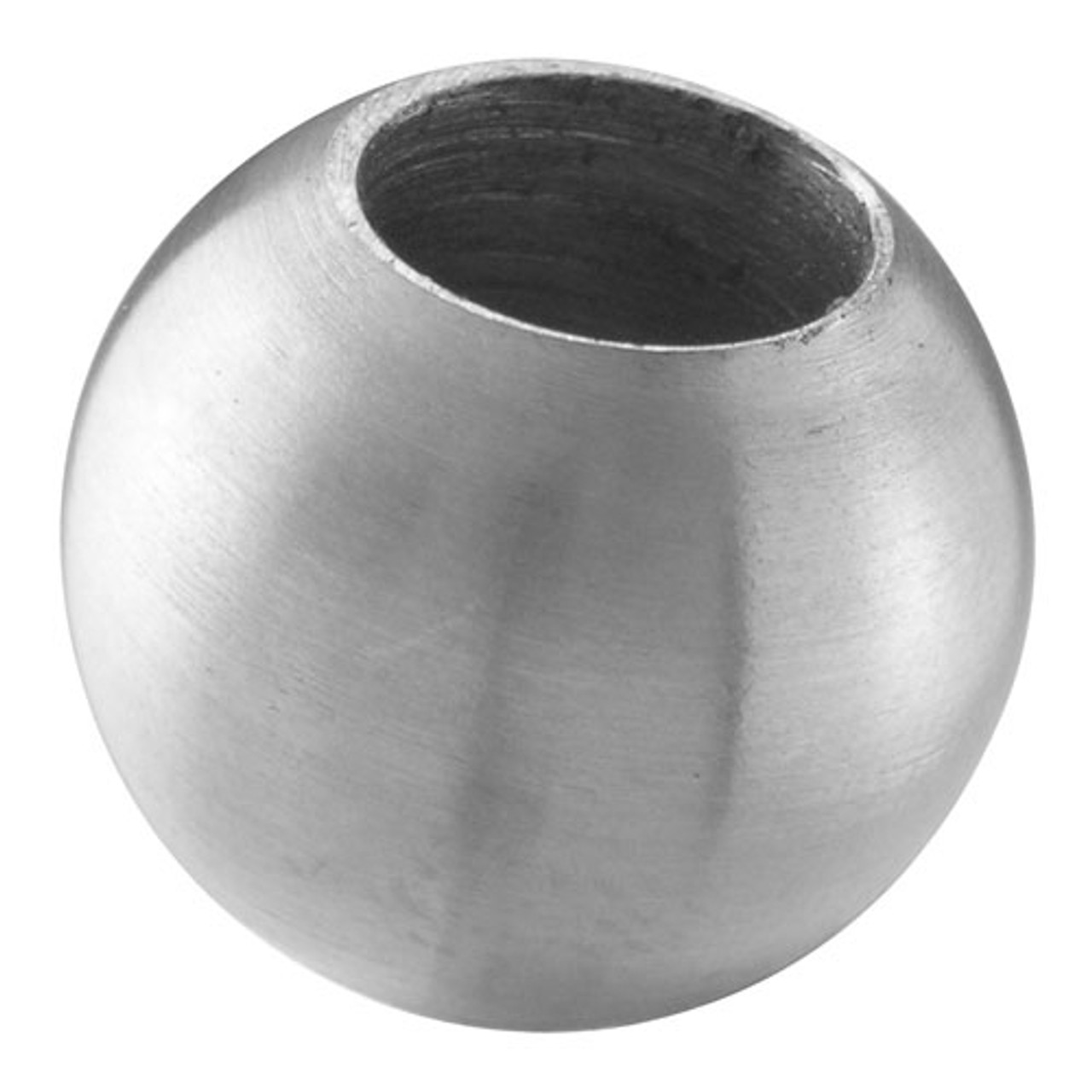 "E0128 Stainless Steel Sphere 63/64"", dead hole"