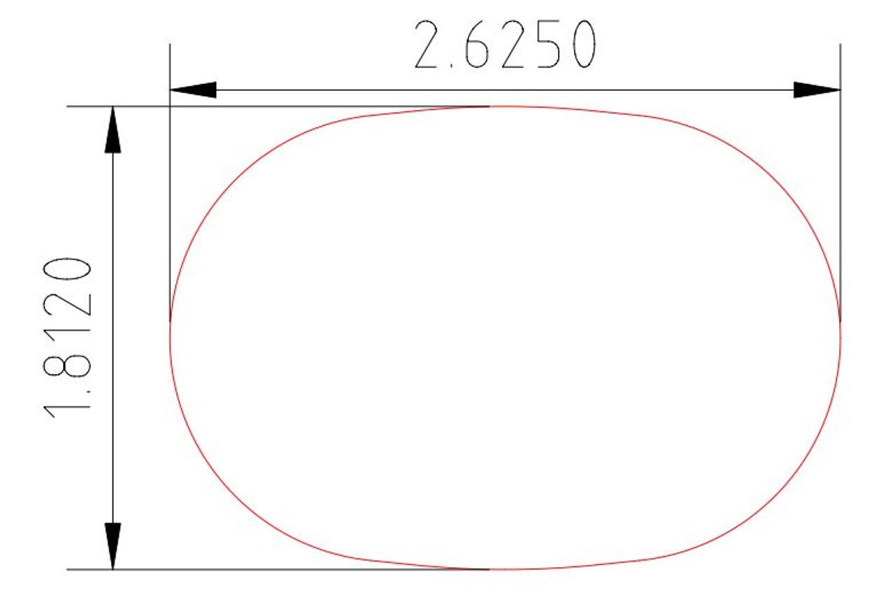 5600 Full Oval CADD