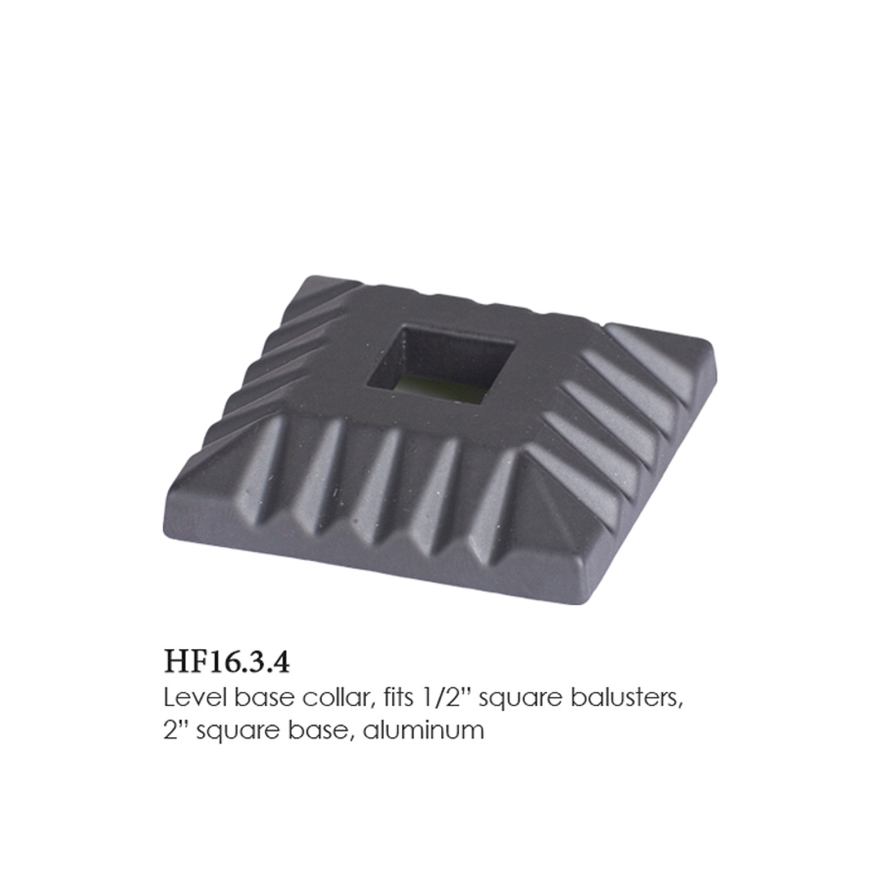 """HF16.3.4 Flat Square Shoe 1/2"""" Only"""