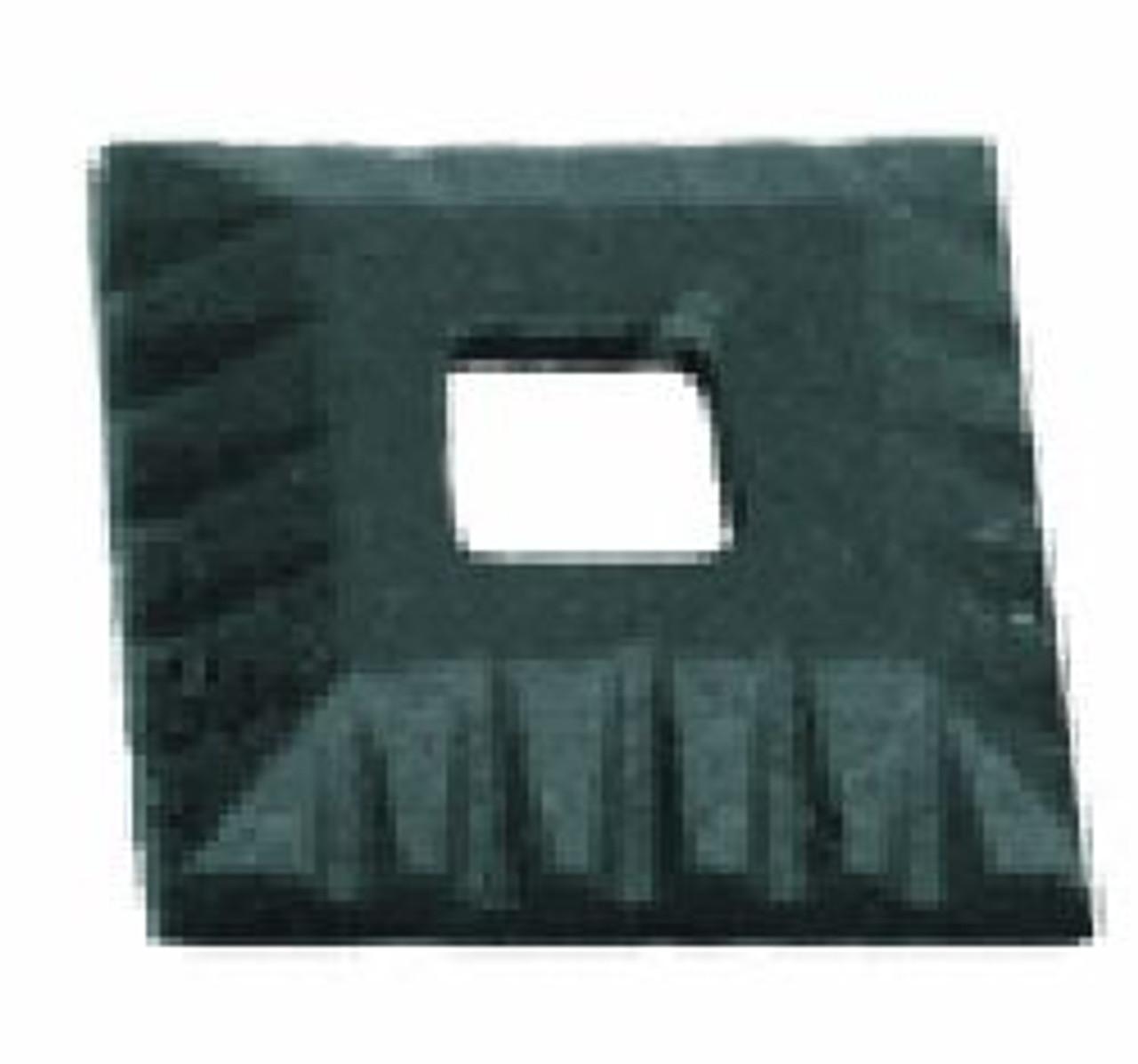 HF16.3.41 Square Scalloped Shoe