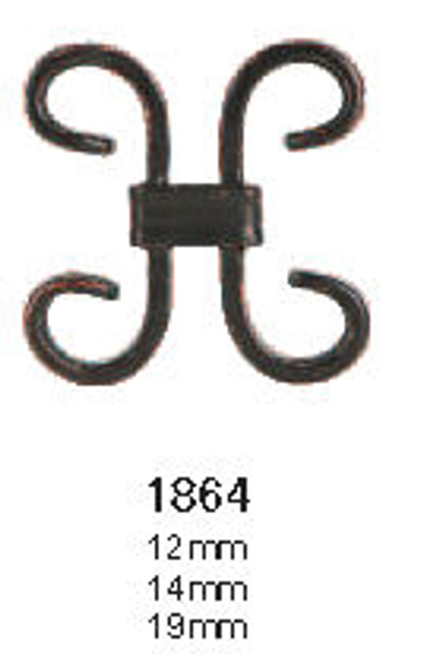 1864 Small Scroll Iron Accessory