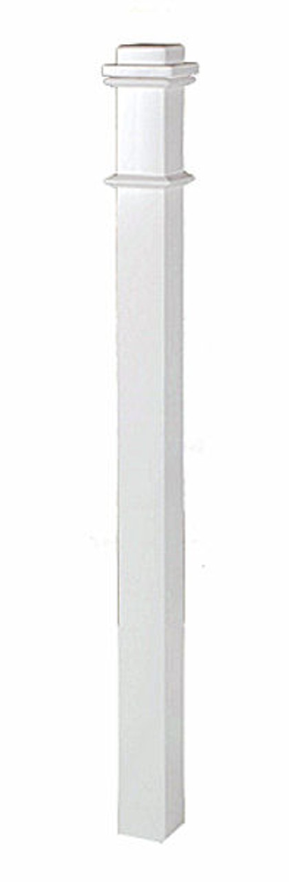 4076 Primed Box Newel Post