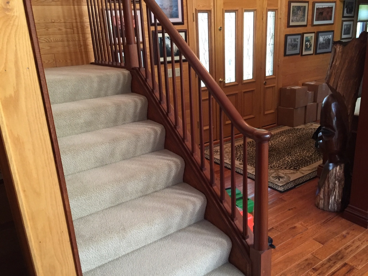 7600 Series Handrail, Over-the-Post 2
