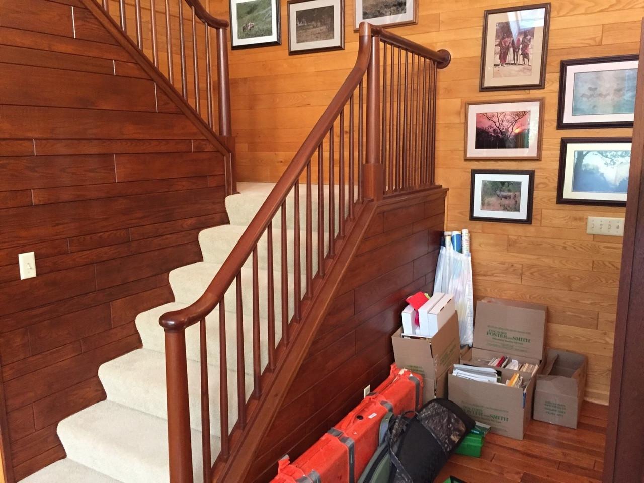 7600 Handrail Staircase Installation