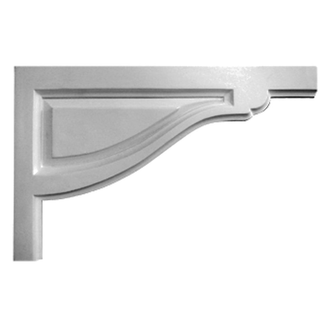 SB08X05TR-R Right Hand Small Traditional Stair Bracket