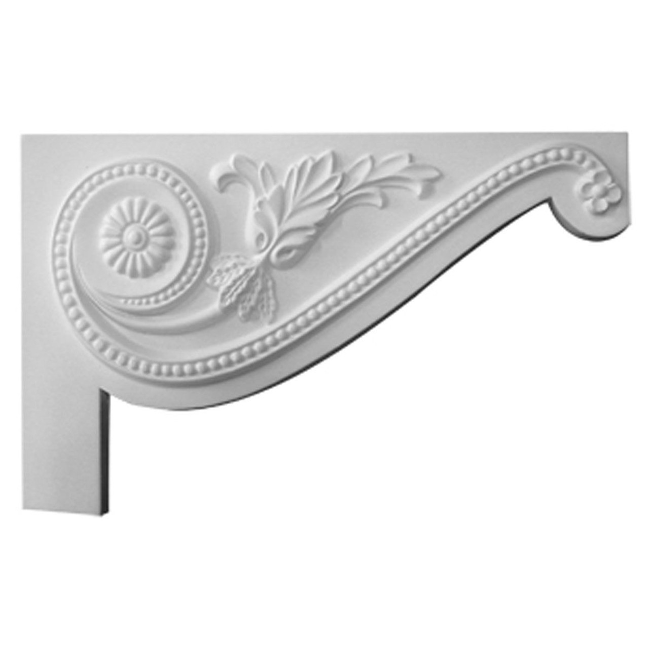 SB11X07PE-R Right Hand Large Pearl Stair Bracket