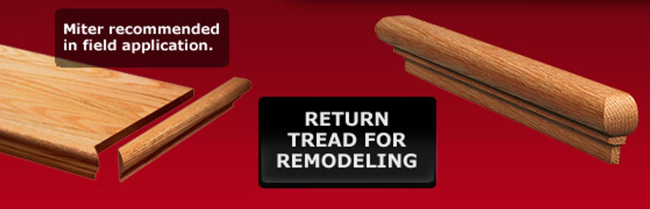 8080RTD Retro Tread Nosing Return