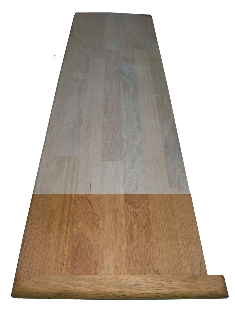 """8070HT 60"""" Red Oak Hybrid Stair Tread"""