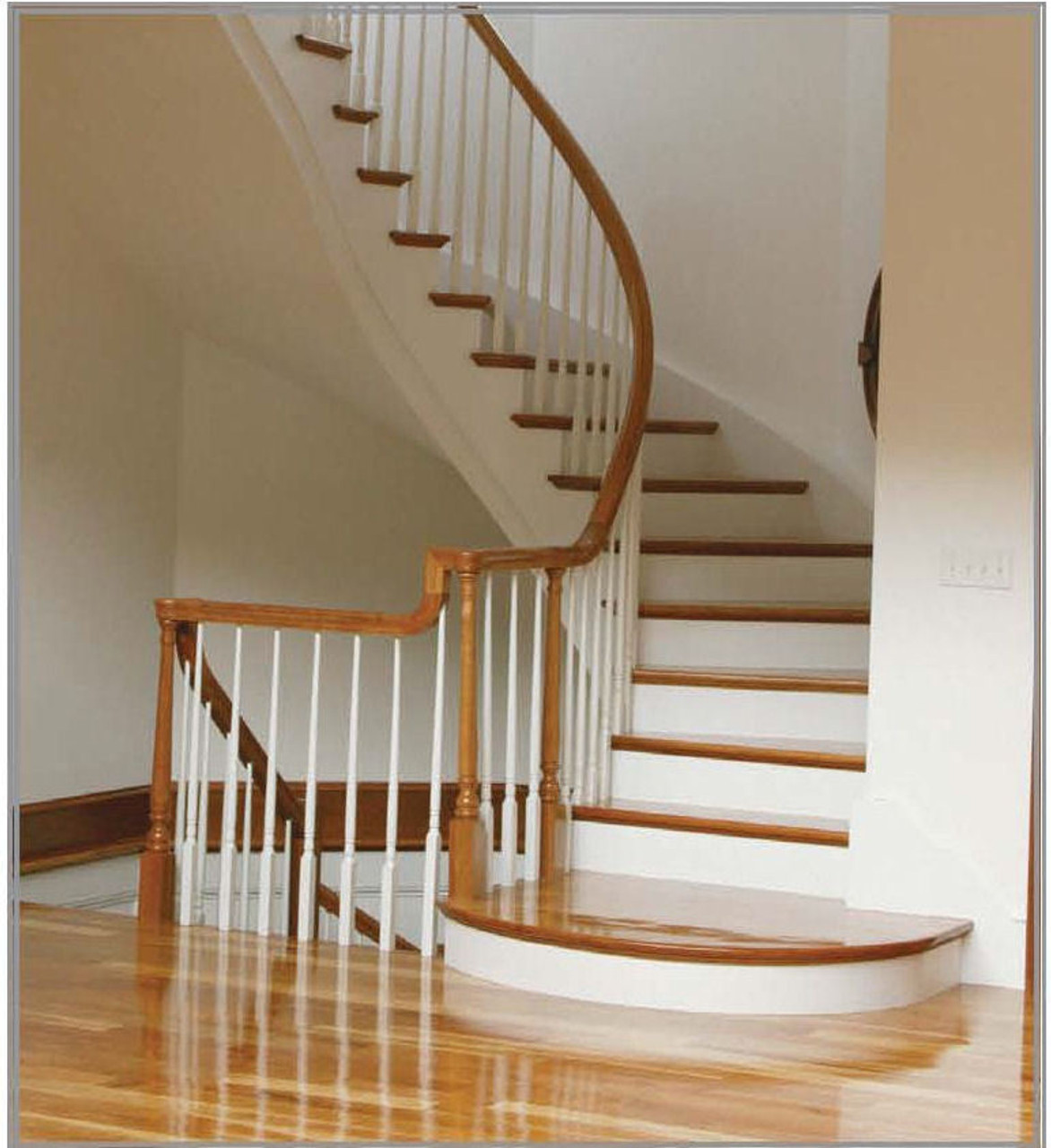 """F-8138 38"""" Fluted Colonial Elegant Rise Baluster"""
