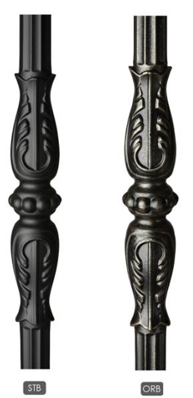 Monte Carlo Powder Coating:  Satin Black (STB) or Oil Rubbed Bronze (ORB)