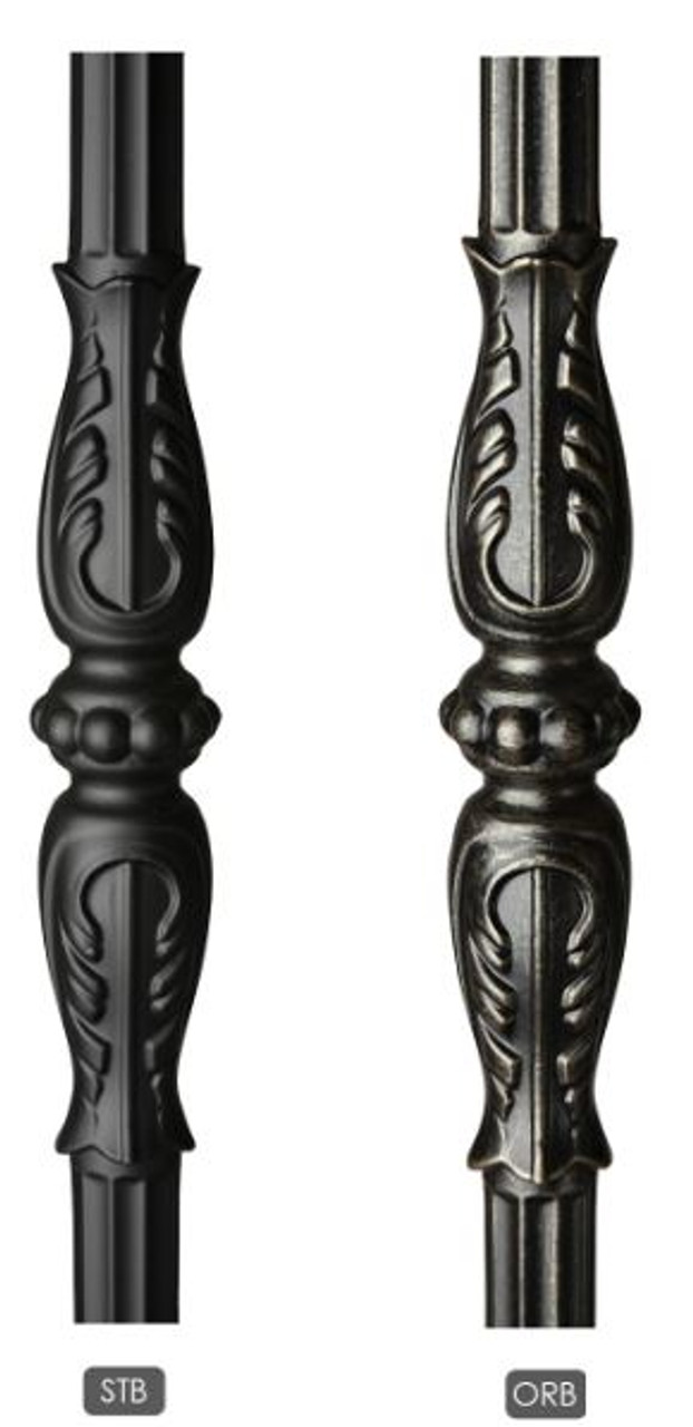 Monte Carlo Powder Coatings:  Satin Black (STB) or Oil Rubbed Bronze (ORB)