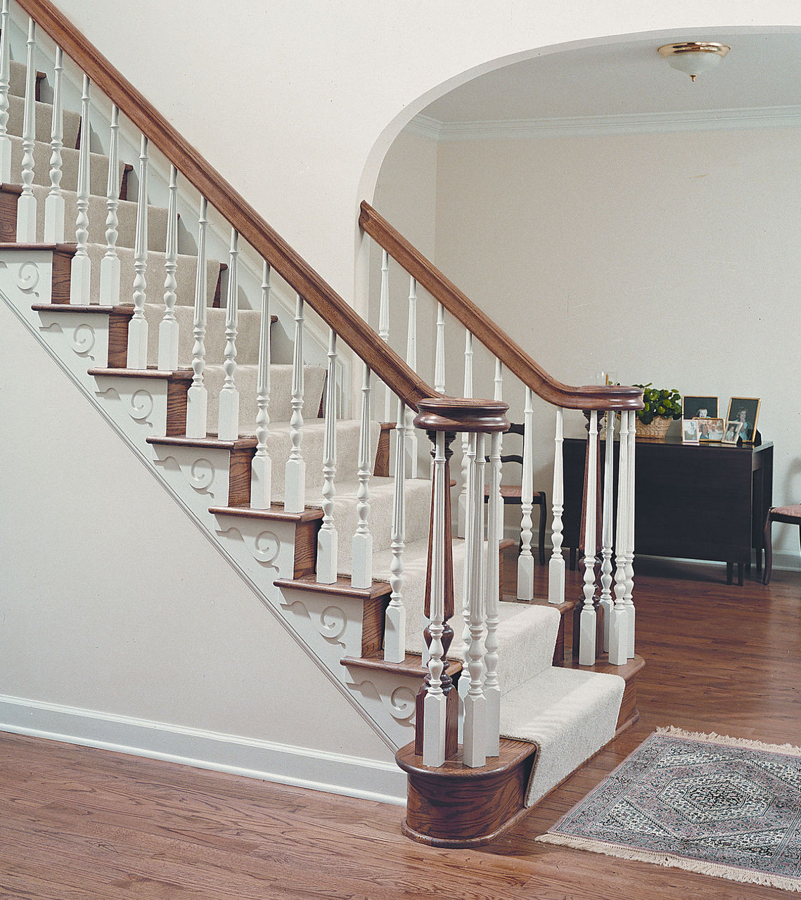 """8515 35"""" Fluted Jefferson Baluster"""