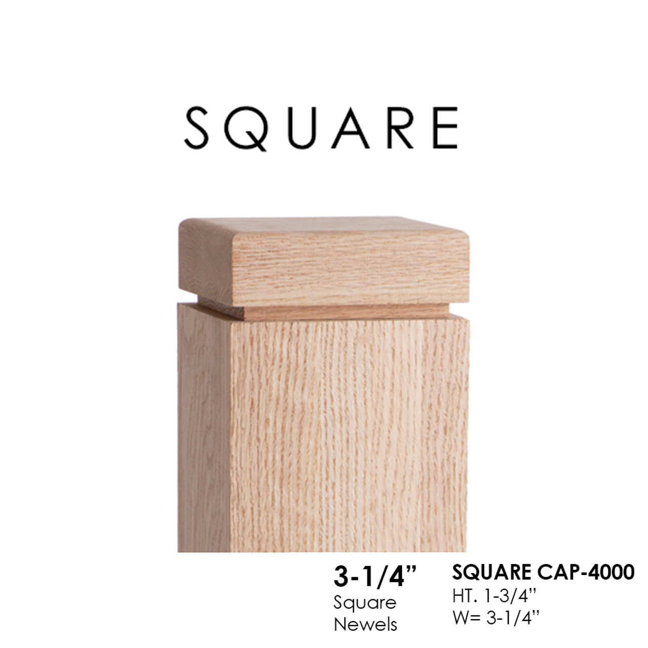 Square Cap - 4000