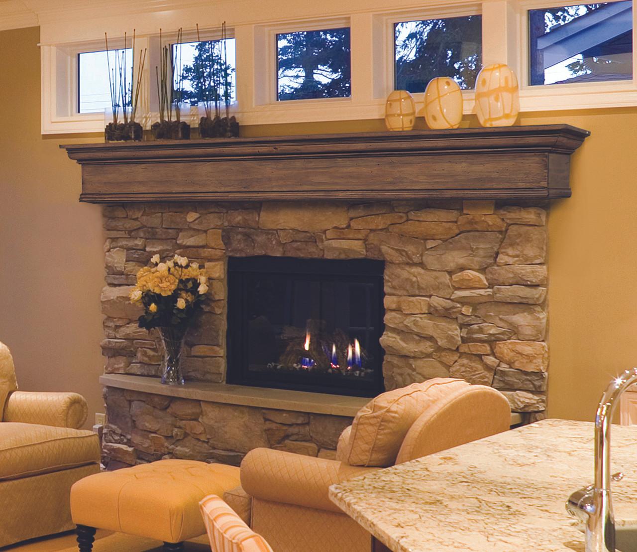 The Savannah Fireplace Mantel Shelf