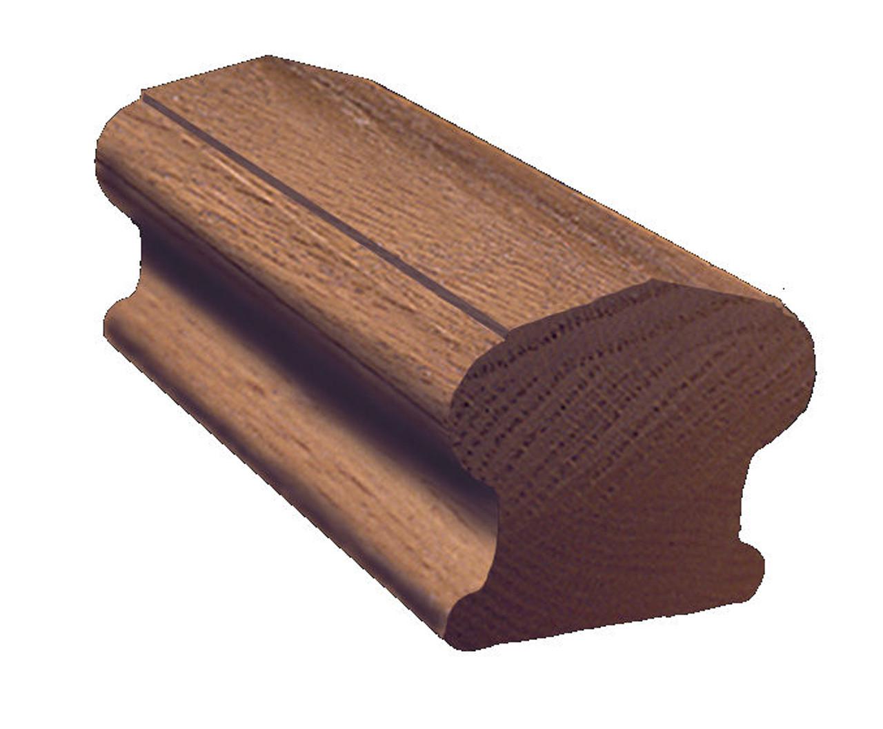 6310 Red Oak Handrail, In stock in 6, 8, 10, 12, 14 & 16-foot lengths
