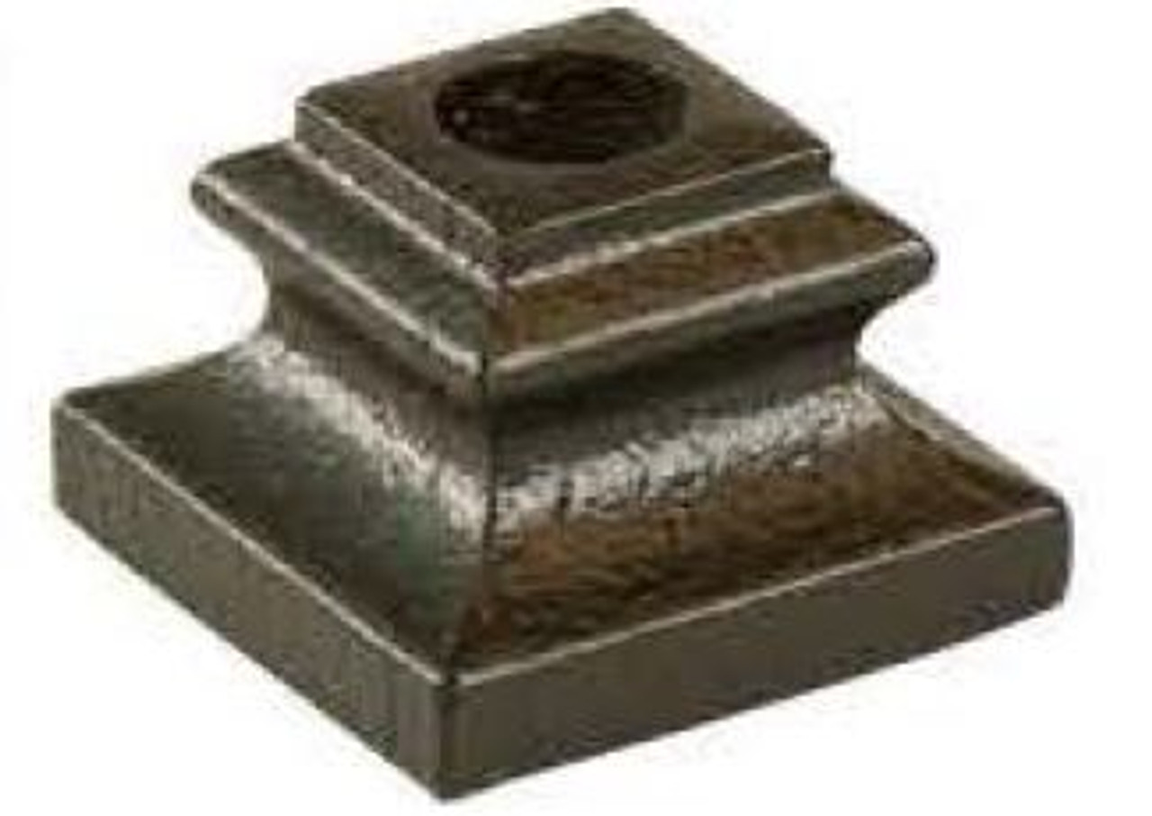 2370 Flat Shoe for 1/2-inch Round Balusters