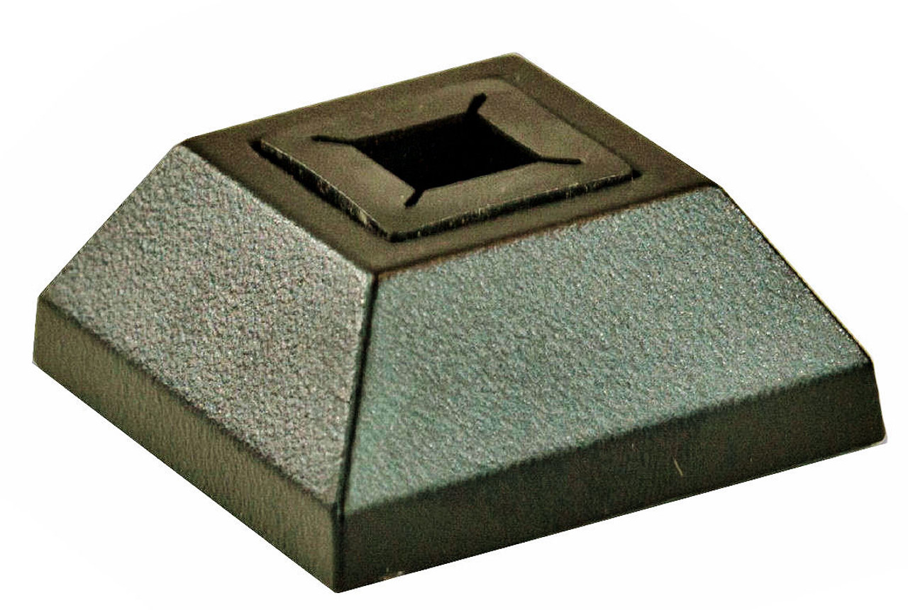 """2330 Lite Universal Square Flat Shoe for both 1/2"""" 12mm and 9/16"""" 14mm balusters"""