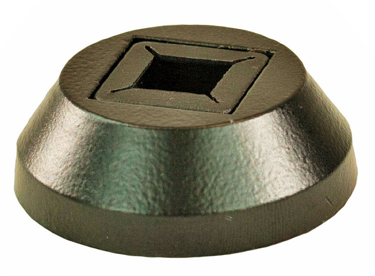 """2331 Lite Universal Round Shoe for 12mm 1/2"""" or 14mm 9/16"""" iron or tubular steel balusters"""