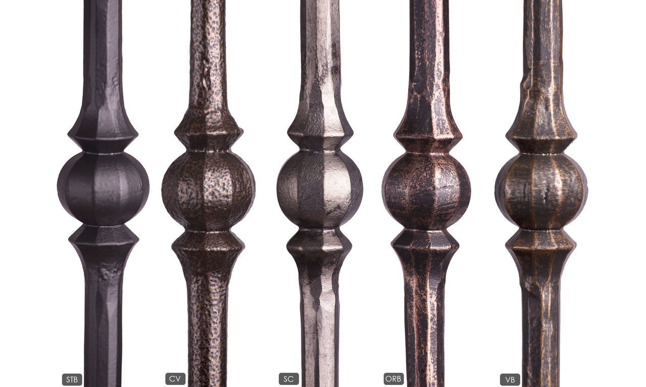 Available Powder Coatings, Satin Black, Copper Vein, Oil Rubbed Bronze, Satin Clear and Vintage Brass