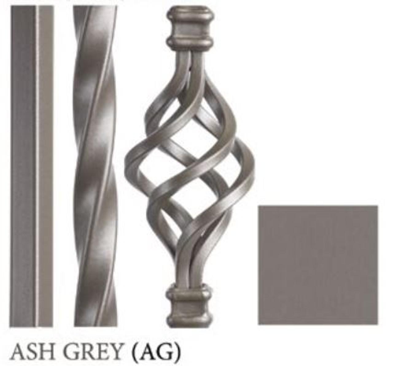 Ash Gray Powder Coating