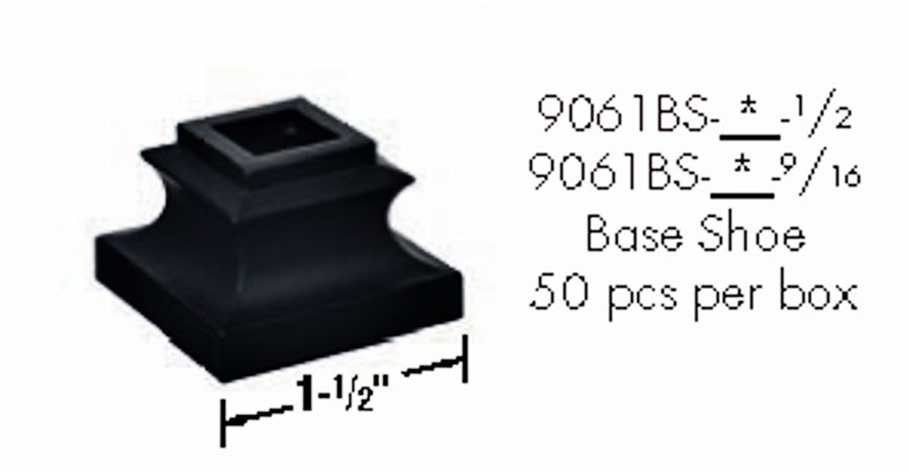 9061BS Inner Base Shoe without set screw