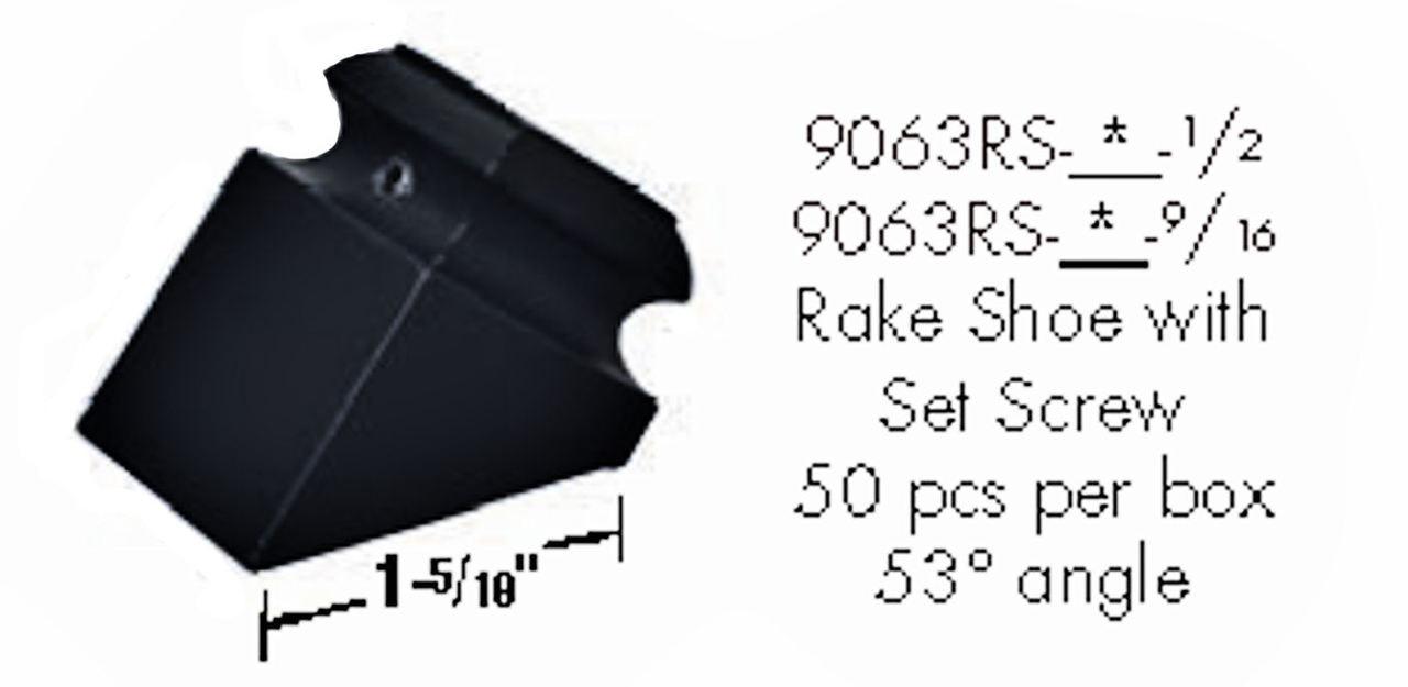 9063RS Inner Rake Shoe
