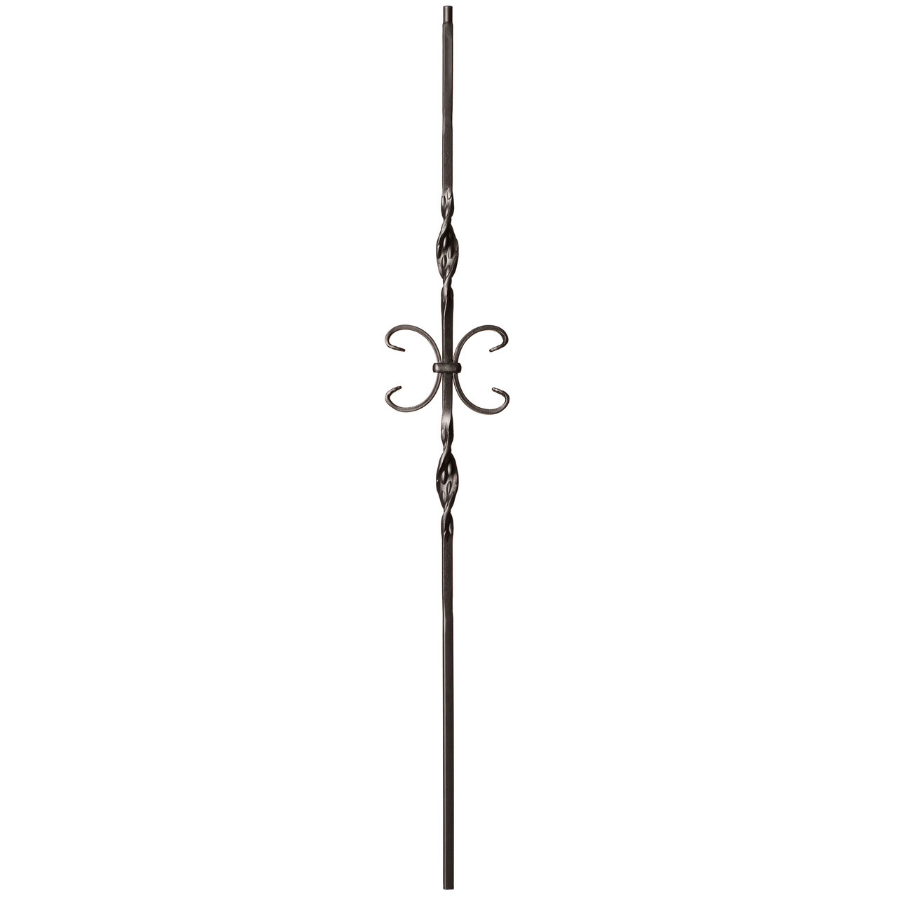 9014RS Double Ribbon and Butterfly Tubular Steel Baluster
